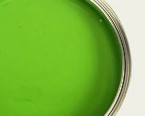 Green ready mix paint