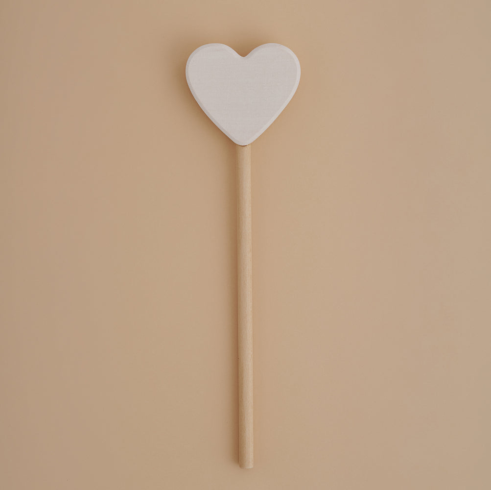 wooden heart wand