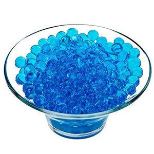 Blue pearl aqua beads