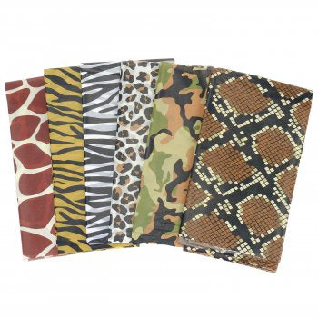 Safari print tissue paper
