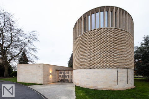 The exterior of the Bishop Edward King Chapel in Oxfordshire. © Nick Miners Photography