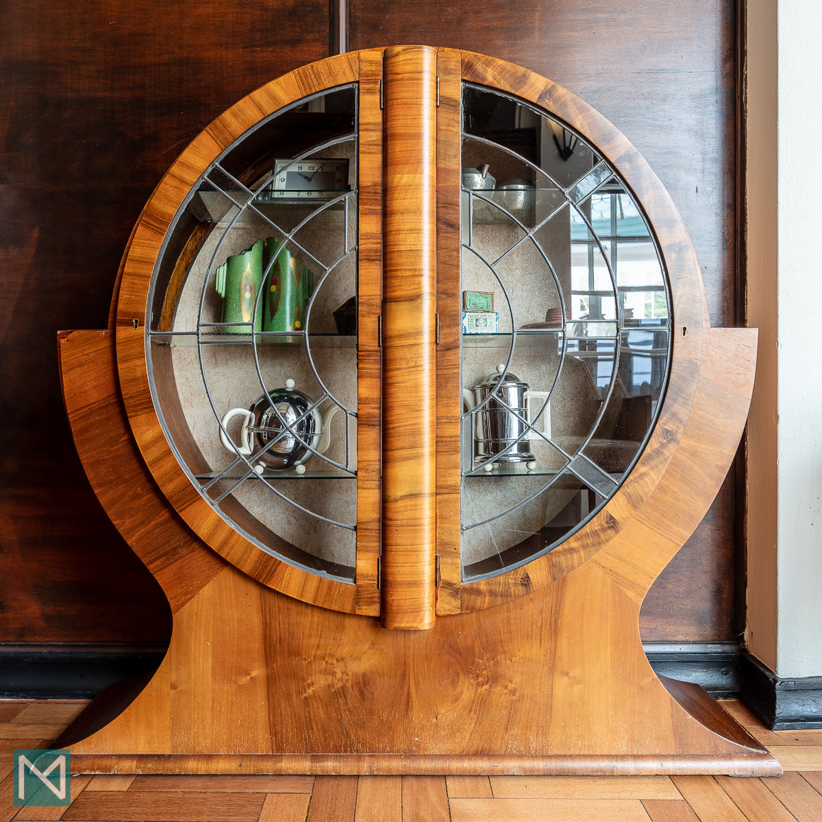 Art Deco Cabinet at the Burgh Island Hotel