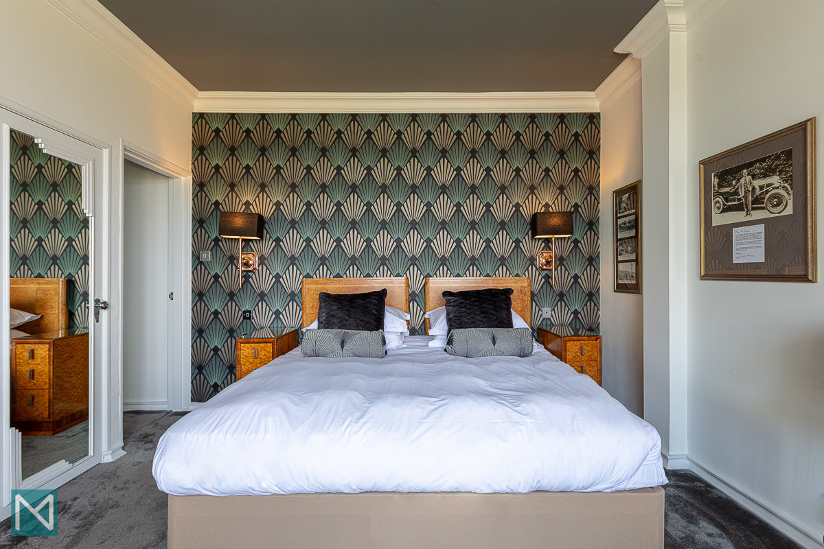 The Nettlefold Bedroom at the Burgh Island Hotel