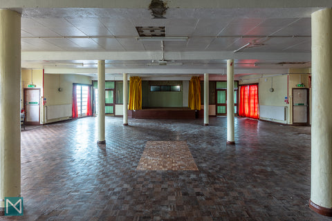 The ballroom at Saltdean Lido