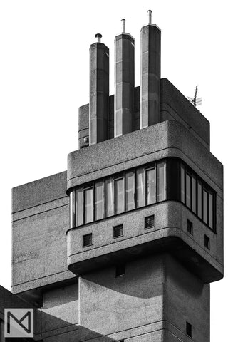 Ernő Goldfinger's Glenkerry House, London from the Brutalist Architecture photography series © Nick Miners