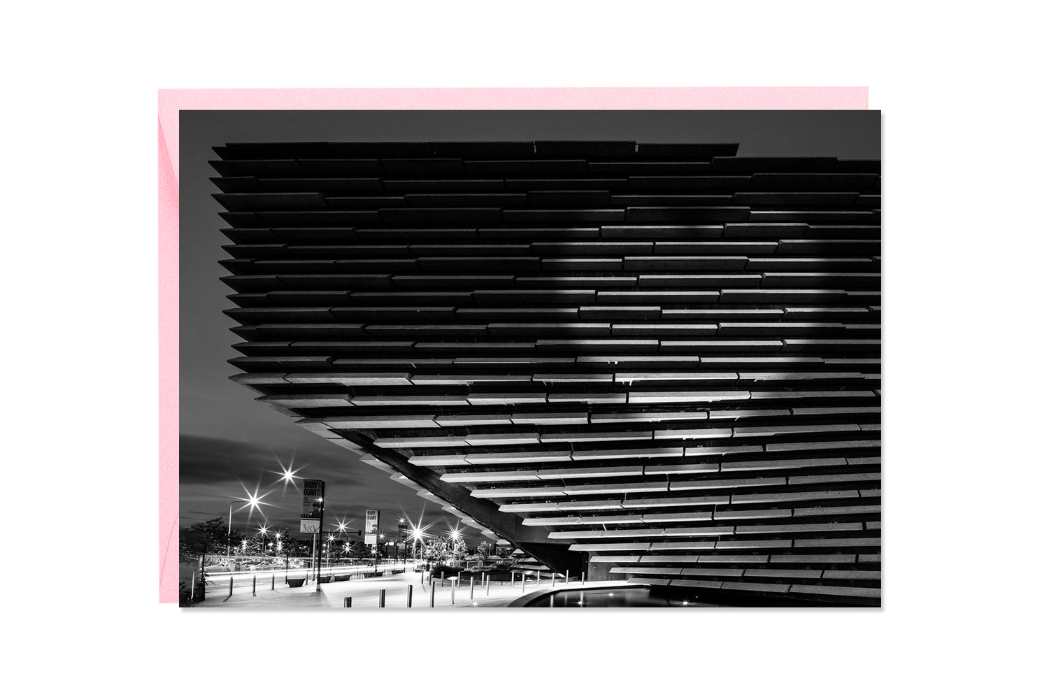 Ten Storey Love Song, a V&A Dundee Valentine's Day design