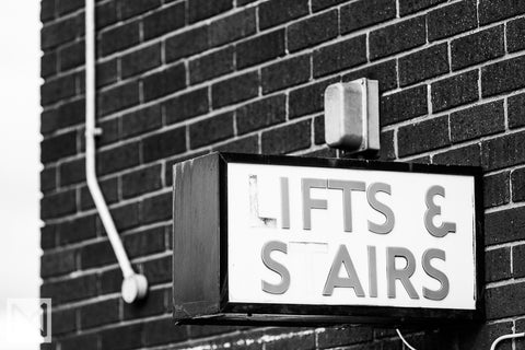 Welbeck Street Car Park Exterior Signage © Nick Miners Photography