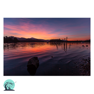 Lake District Art Print Derwentwater Nick Miners