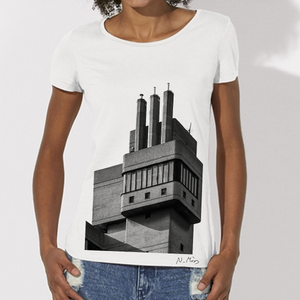 Women's Brutalist Modern Architecture T-Shirt Glenkerry by Nick Miners