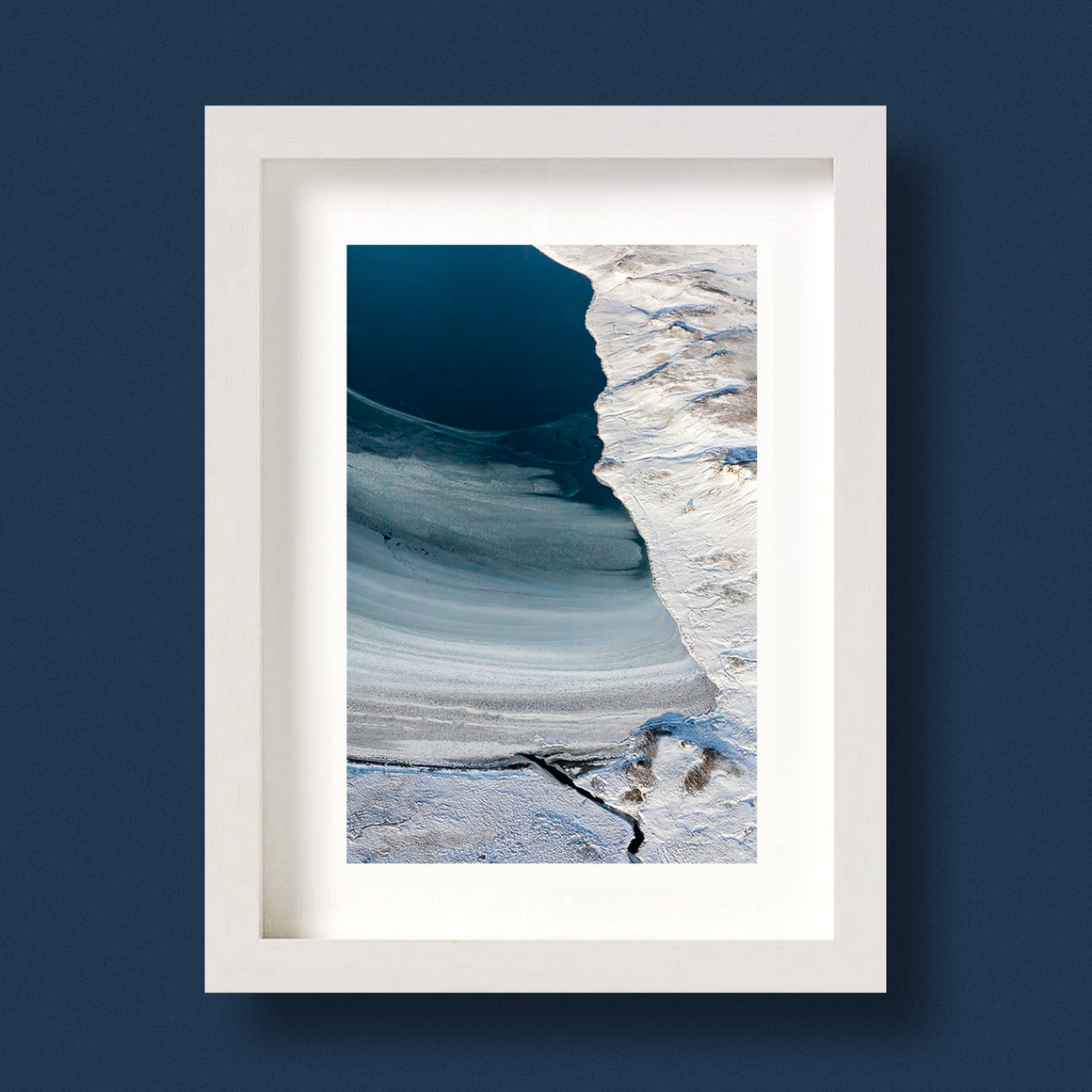 Aerial Landscape Print Iceland Nick Miners Freeze