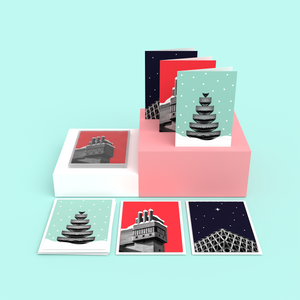 Brutalist Architecture Christmas Cards Nick Miners