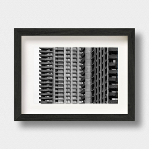 Brutalist Architecture Print Barbican London Photographer Nick Miners