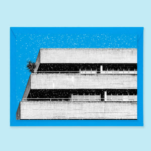 Beton Brut Christmas Cards National Theatre London
