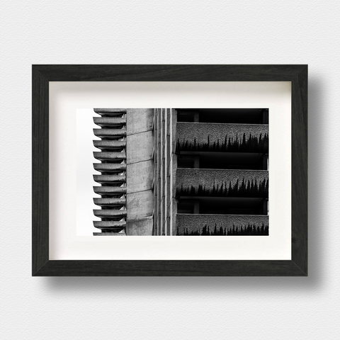 Brutalist Architecture Print Brut Force London Photographer Nick Miners