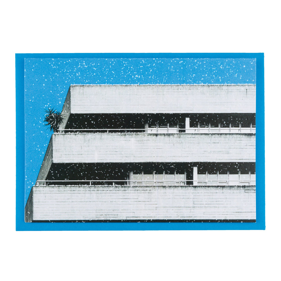 Brutalism x CMYK Architecture Christmas Cards