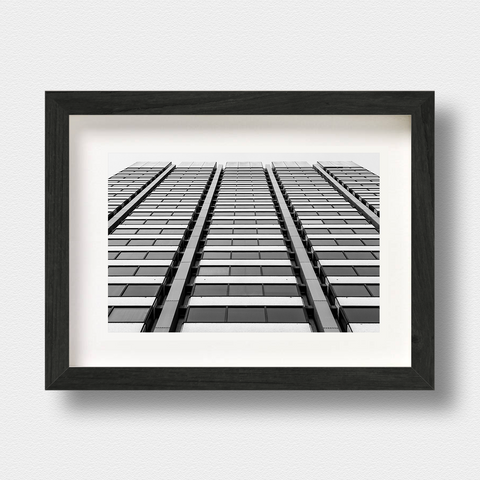 Modern Architecture Print Convergent London Photographer Nick Miners