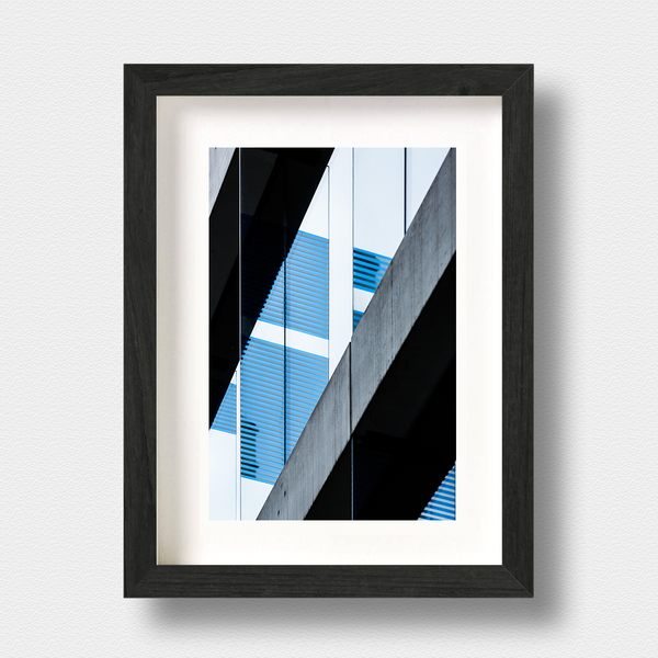 Modern Architecture Print Urban Blues London Photographer Nick Miners