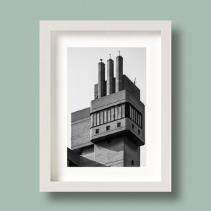 Brutalist Architecture Print London Glenkerry House