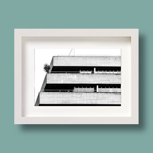 Brutalist Architecture Print National Theatre London Nick Miners