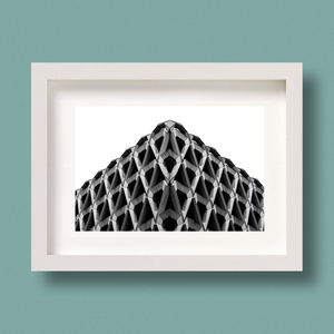 Brutalist Architecture Print Welbeck Street London Nick Miners