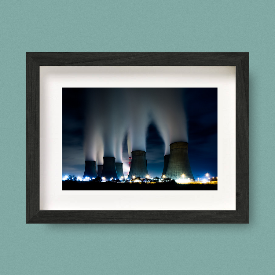 Industrial Landscape Power Station Print Nick Miners