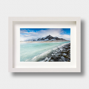 Iceland Landscape Print Green Water by London Photographer Nick Miners