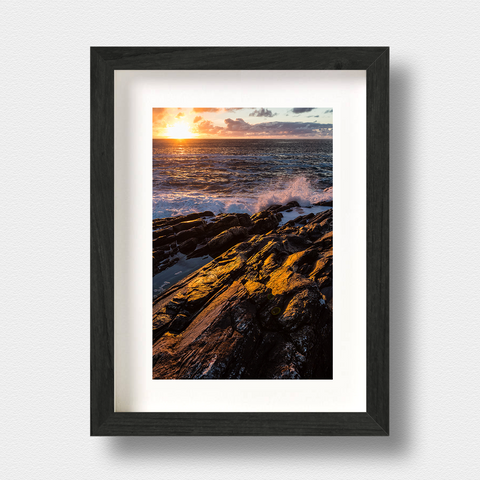 Hebrides Landscape Print Hebridean Sunset by Nick Miners