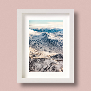 Iceland Mountains Print Wilderness Nick Miners
