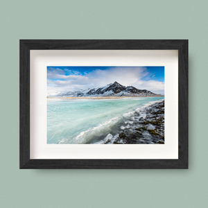 Iceland Landscape Photography Print Green Water Nick Miners