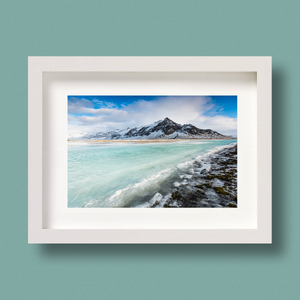 Iceland Landscape Photography Print Nick Miners Green Water