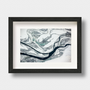 Iceland Aerial Landscape Print Geothermal by Photographer Nick Miners