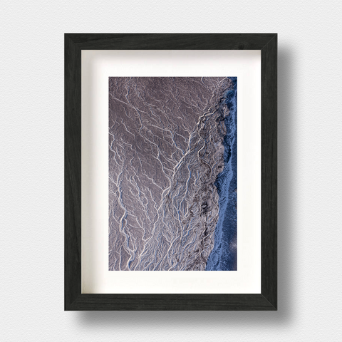 Iceland Landscape Print Ribbons by London Photographer Nick Miners