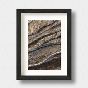 Iceland Landscape Print Ridges by London Photographer Nick Miners