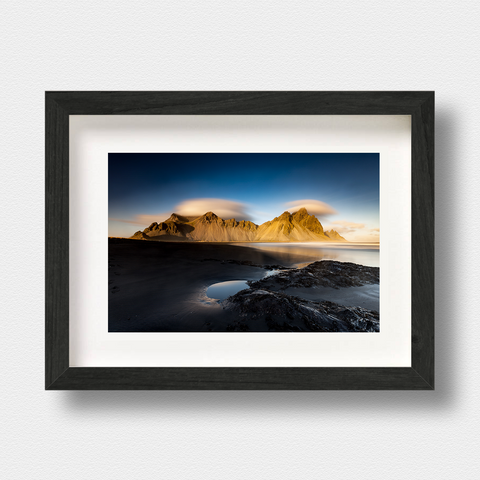 Iceland Landscape Print Vestrahorn by London Photographer Nick Miners
