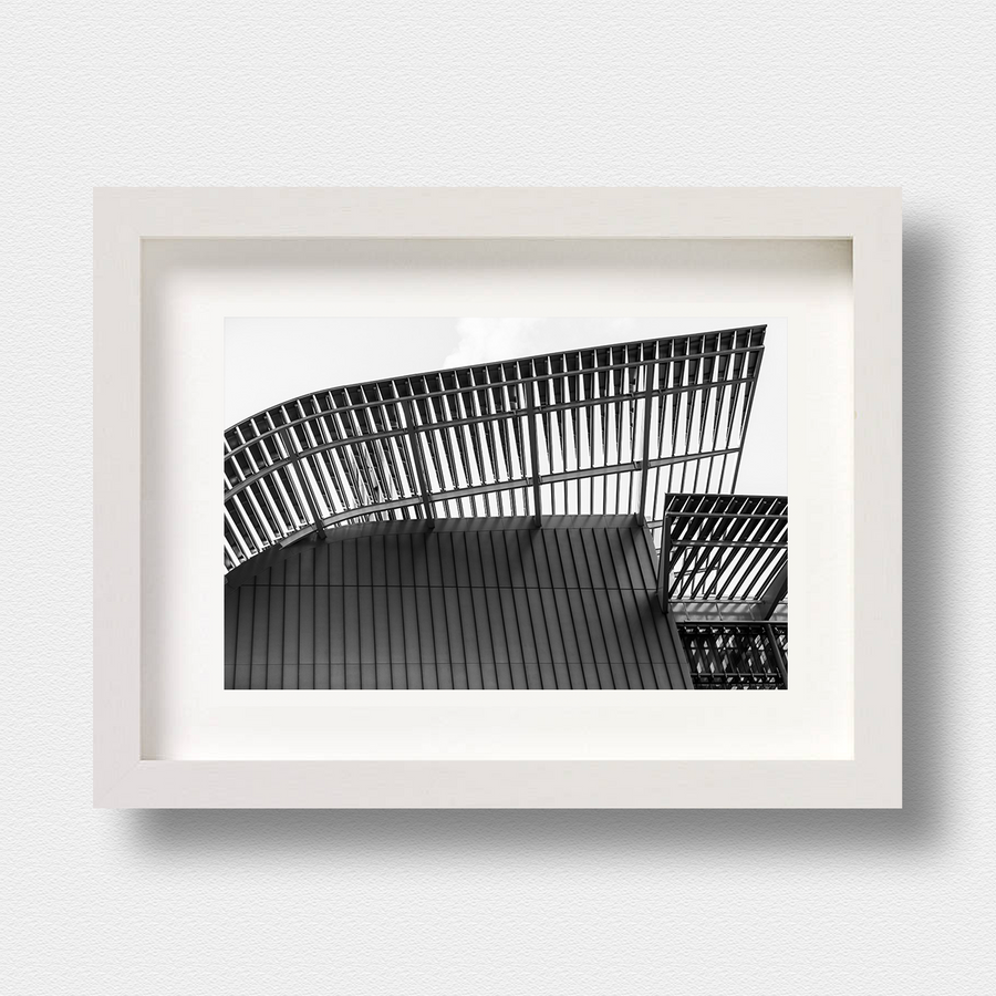 Modern Architecture Print Lattice by London Photographer Nick Miners