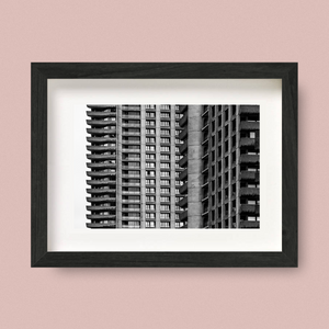 London Brutalist Architecture Print Nick Miners