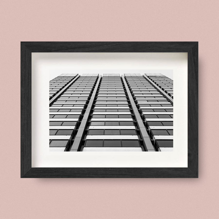 Modernist Architecture Print Convergent Nick Miners