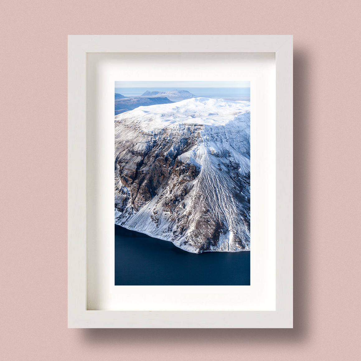 Mountain Landscape Print Iceland Nick Miners Hvalfell