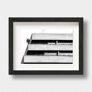 Brutalist Architecture Print National Theatre London Photographer Nick Miners