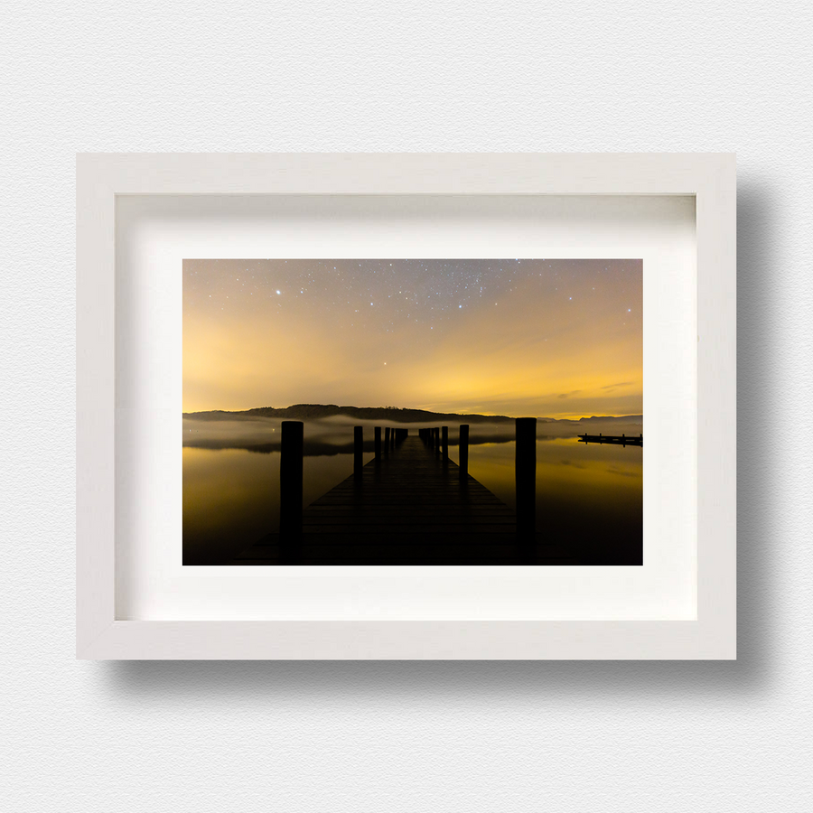 Lake District Landscape Print Windermere at Night by Photographer Nick Miners