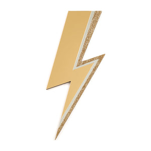 Rollerama Wholesale Gold Lightning Bolt Mirror