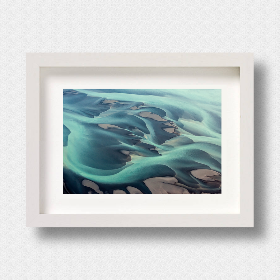 Iceland Landscape Print Sediment by London Photographer Nick Miners