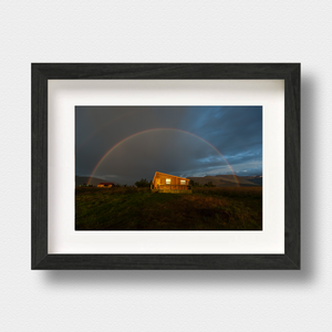 Iceland Landscape Print Tinted Rainbow by Photographer Nick Miners