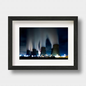 Urban Landscape Print The Cloudmakers by Photographer Nick Miners