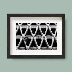 Welbeck Street Car Park Print London Nick Miners