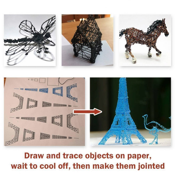 3D Pen Learning Instruction.