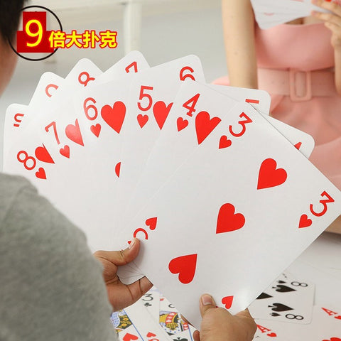 Jumbo Size Playing Cards 耍大牌巨型扑克牌