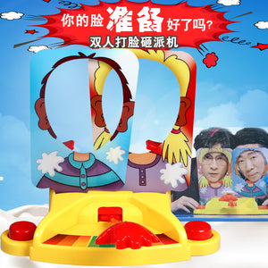 Pie Face Showdown Game 双人奶油砸派机