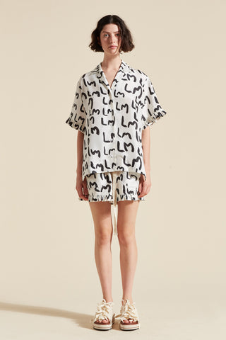 LM Print Short Sleeve Shirt