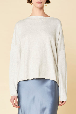 Cotton Cashmere Boxy Knit